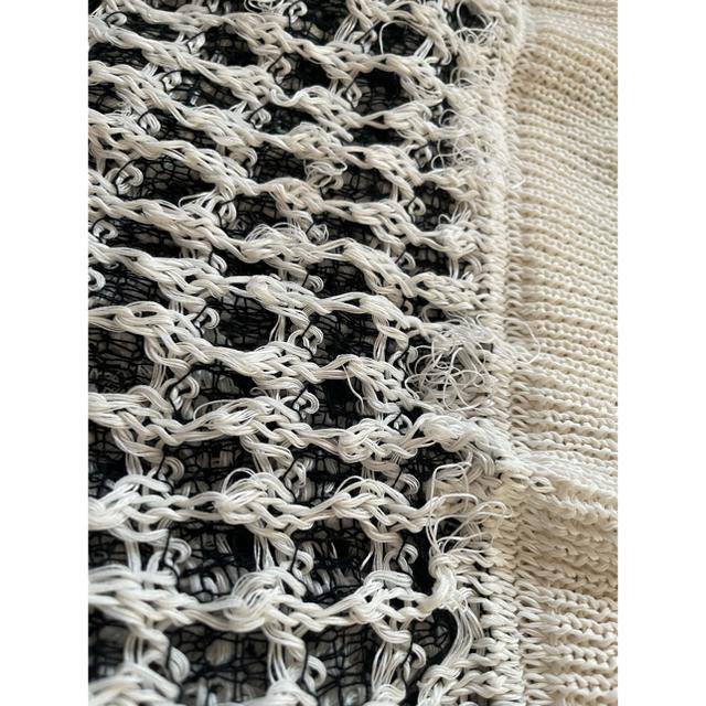 Yohji Yamamoto(ヨウジヤマモト)のサルバム sulvam ニット アミアミニット メンズのトップス(ニット/セーター)の商品写真