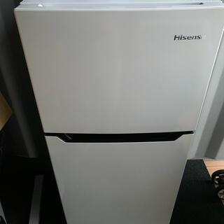 Haier - Hisense  2ドア冷凍冷蔵庫  HR-B1201     2018年製