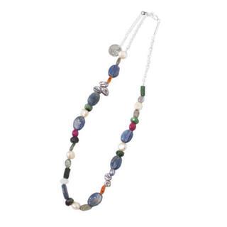 ジエダ(Jieda)のJieda 2021aw mix stone necklace ネックレス(ネックレス)