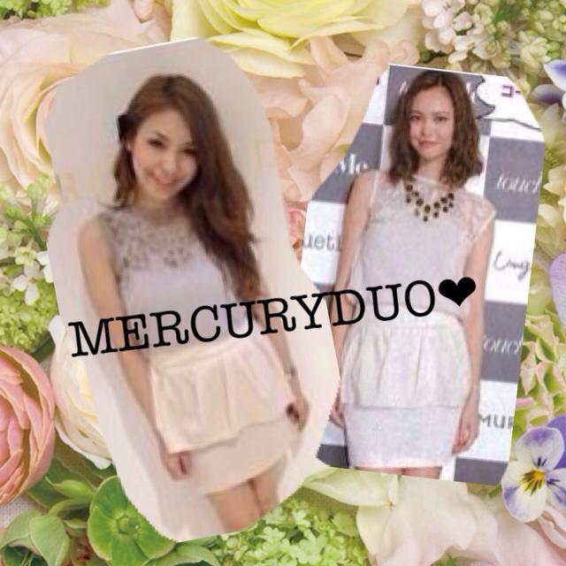 MERCURYDUO(マーキュリーデュオ)のMERCURYDUO❤︎ペプラムスカート レディースのスカート(ミニスカート)の商品写真