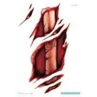 「剥きだし骨」タトゥーシール2(小道具)