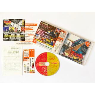 セガ(SEGA)のドリームキャスト 超鋼戦紀キカイオー 帯ハガキあり Dreamcast DC(家庭用ゲームソフト)