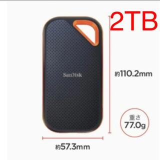 SanDisk - SanDisk ポータブルSSD  2TB