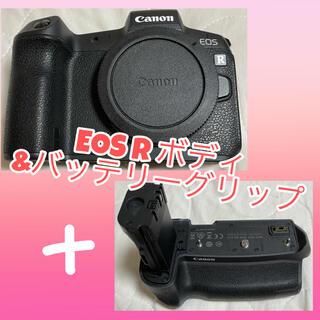 """Canon - 【中古】""""月末SALE""""Canon EOS R ボディ+バッテリーグリップ"""