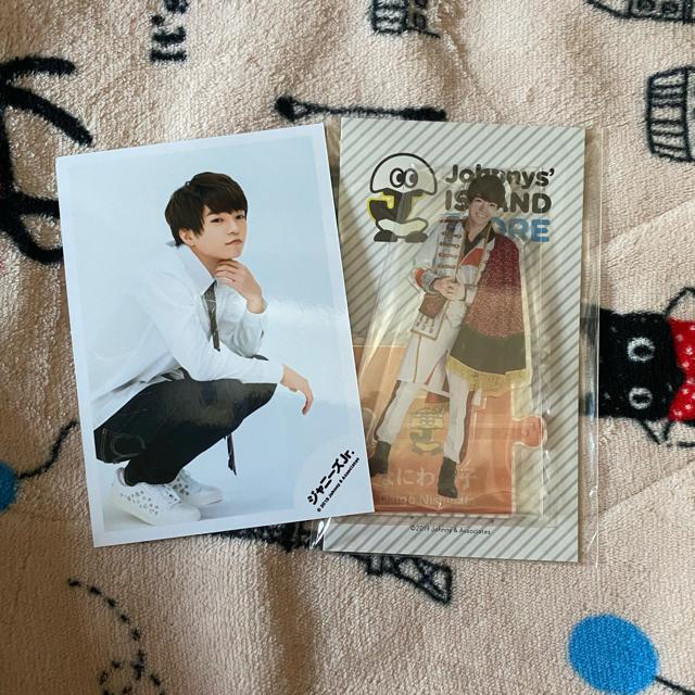 西畑大吾 アクスタ エンタメ/ホビーのタレントグッズ(アイドルグッズ)の商品写真