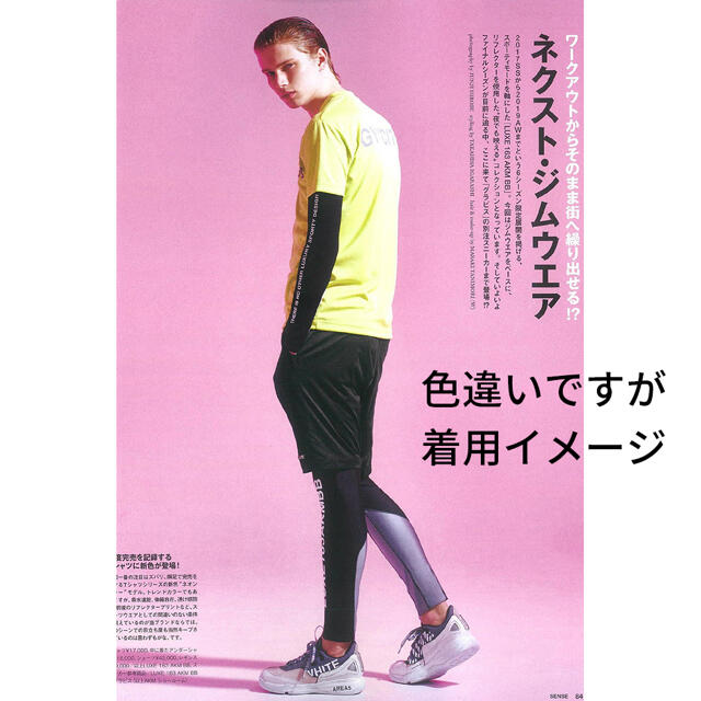 AKM(エイケイエム)の新品人気限定 AKM LUXE163 リフレクター XL 1piu tfw49 メンズのトップス(Tシャツ/カットソー(半袖/袖なし))の商品写真