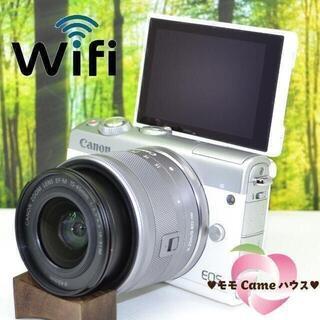 Canon - キヤノンEOS M100☆Bluetoothでスマホに簡単転送☆1583