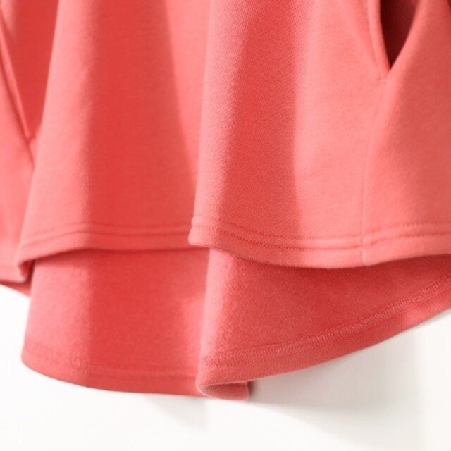 Branshes(ブランシェス)のブランシェス 裏起毛チュニック 110 新品タグ付き キッズ/ベビー/マタニティのキッズ服女の子用(90cm~)(Tシャツ/カットソー)の商品写真