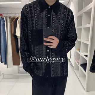 Jil Sander - OUR LEGACY 21SS レースシャツ crochet shirt 46