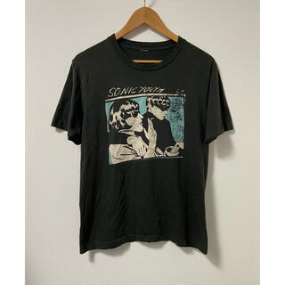HYSTERIC GLAMOUR - SONIC YOUTH ソニックユース ロゴ入りTシャツ 古着