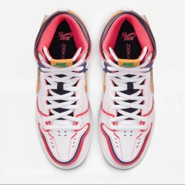 NIKE(ナイキ)のNIKE SB ダンク ハイ PRO GANDAM UNICORN 26.5cm メンズの靴/シューズ(スニーカー)の商品写真