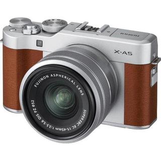 富士フイルム - FUJIFILMミラーレス一眼カメラブラウン X-A5LK-BW