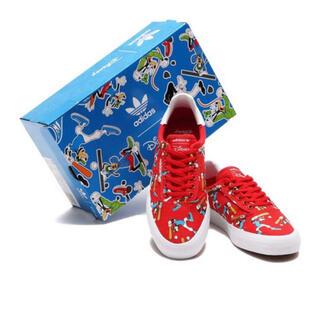 adidas - 新品・タグ付き◎アディダスオリジナルス ディズニーグーフィー総柄スニーカー♪