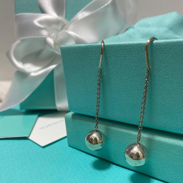 Tiffany & Co.(ティファニー)のtiffanyハードウェアボールフックピアス10mm レディースのアクセサリー(ピアス)の商品写真