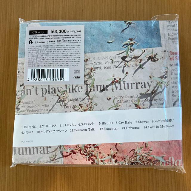 official髭男dism Editorial 最新アルバム エンタメ/ホビーのCD(ポップス/ロック(邦楽))の商品写真
