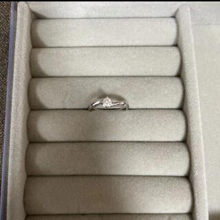 ミッシェルクラン(MICHEL KLEIN)のプラチナ pt950 ダイヤモンド リング 指輪 9号(リング(指輪))