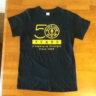 【GOLD'S GYM 】☆創設50周年限定記念TシャツSサイズ ブラック