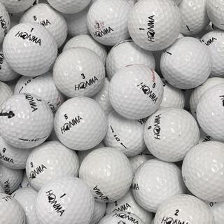 本間ゴルフ - ★限定特典★説明確認必須★ ロストボール ホンマ ホワイト 100球 B