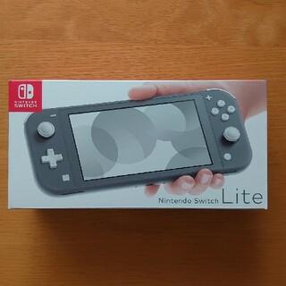 Nintendo Switch - 【新品未使用】ニンテンドースイッチ ライト グレー