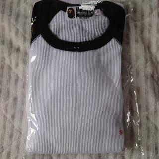 アベイシングエイプ(A BATHING APE)の新品 ape ロンT(Tシャツ(半袖/袖なし))