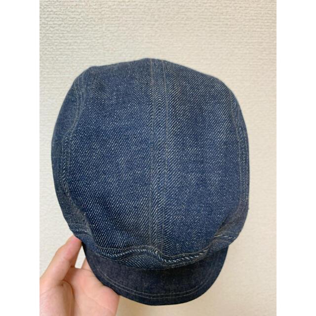 EVISU(エビス)のEVISU キャップ デニム ベースボール メンズの帽子(キャップ)の商品写真