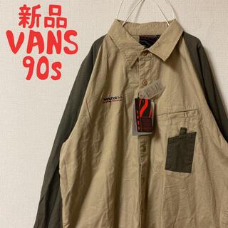 VANS - 希少 新品 バンズ  VANS シャツ 90s