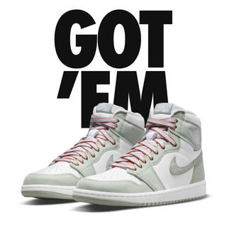 "NIKE - 24㎝ Nike Wmns Air Jordan 1 ""Seafoam"""