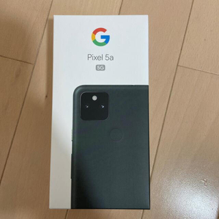 Google Pixel - Google Pixel 5a 5G Googleストア版 SIMフリー 新品