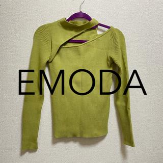 EMODA - EMODA カッティングタイトニット