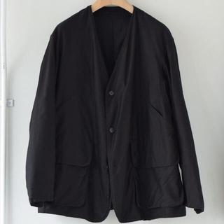 COMOLI - COMOLI コットンサテン ハンティングジャケット 21ss  サイズ3未使用