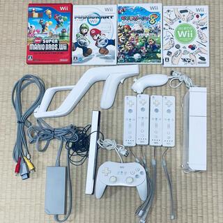 Wii - Nintendo Wii 任天堂Wii 本体 ケーブルセット