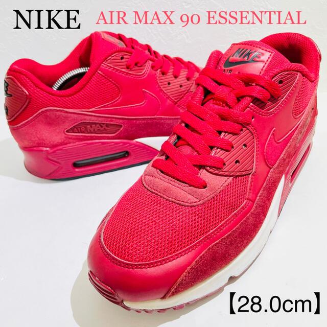 NIKE(ナイキ)のNIKE/ナイキ★AIR MAX90/エアマックス90★ジムレッド/赤★28.0 メンズの靴/シューズ(スニーカー)の商品写真
