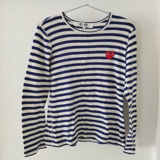 コムデギャルソン(COMME des GARCONS)のコムデギャルソンプレイ ボーダーT レディースM(Tシャツ(長袖/七分))