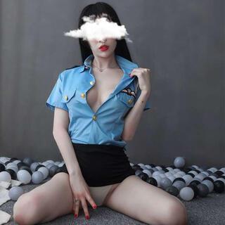 警察官 ミニスカポリス トップス スカート コスプレ 衣装 ハロウィン(衣装一式)