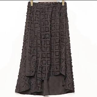 アンティカ(antiqua)の⚠️訳あり⚠️難ありantiqua  デザイン スカート(ひざ丈スカート)
