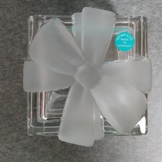 ティファニー(Tiffany & Co.)のティファニー  クリスタルBOX(小物入れ)