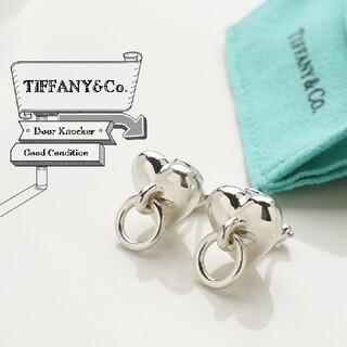 ティファニー(Tiffany & Co.)のティファニー 研磨仕上げ ハート ドア ノッカー 925 イヤリング(イヤリング)