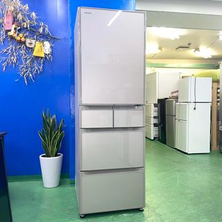 ヒタチ(日立)の未使用に近い⭐️日立⭐️冷凍冷蔵庫 2021年 401L 大阪市近郊配送無料(冷蔵庫)