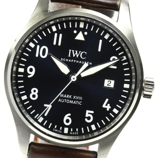 インターナショナルウォッチカンパニー(IWC)の☆良品 IWC マークXVIII プティ・プランス メンズ 【中古】(腕時計(アナログ))
