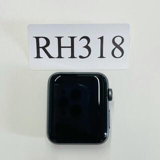 アップルウォッチ(Apple Watch)の中古美品 Apple Watch Series 3 42ミリ RH318(腕時計(デジタル))