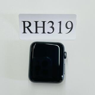 アップルウォッチ(Apple Watch)の中古美品 AppleWatch Series 3Nike 42ミリGPS-LTE(腕時計(デジタル))