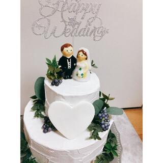 ウェルカムスペース 結婚式 ウエディングケーキ クレイケーキ(その他)