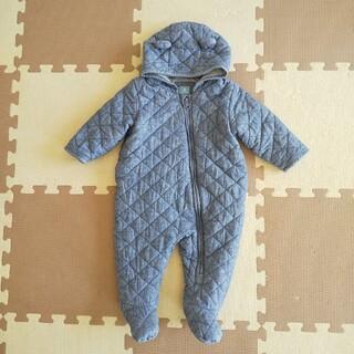 ベビーギャップ(babyGAP)のbabyGAP ベビーギャップ キルティングカバーオール 70cm ライトブルー(ジャケット/コート)