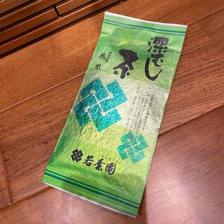【匿名配送】品川 若素園 深蒸し煎茶 鳳凰 100g 高級茶 未開封