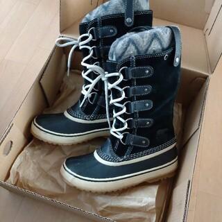 ソレル(SOREL)の23cm SOREL 防寒防水 ブーツ JOAN OF ARCTIC KNIT(ブーツ)