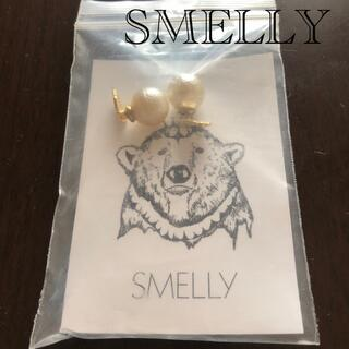 SMELLY - SMELLYリバーシブルパールボールピアス!新品未使用