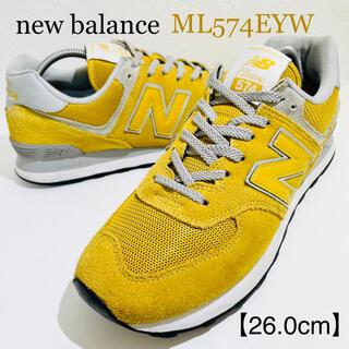 New Balance - newbalance/ニューバランス★ML574EYW★マスタード/黄★26.0