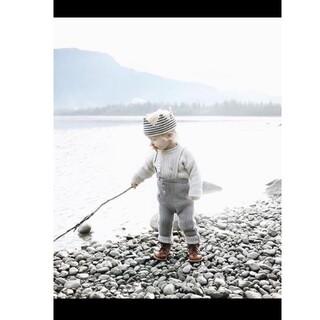 Caramel baby&child  - MABLI ニットサロペット