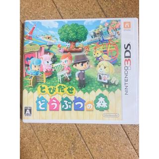ニンテンドー3DS(ニンテンドー3DS)のとびだせどうぶつの森 ソフト(家庭用ゲームソフト)