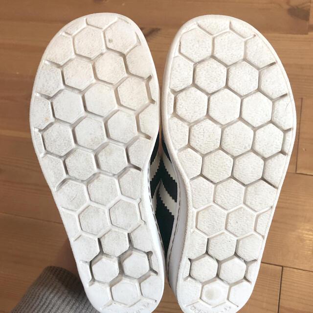 adidas(アディダス)のキッズadidas アディダス スーパースタースリッポン17cm黒ブラック 美品 キッズ/ベビー/マタニティのキッズ靴/シューズ(15cm~)(スニーカー)の商品写真